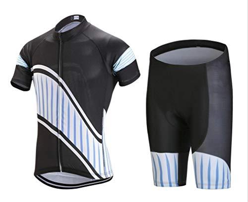 1949shop Kurzarm-Reitanzug Anzug Outdoor Mountainbike-Reitjacke Shorts