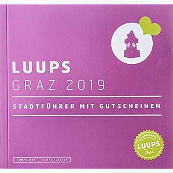 LUUPS Graz 2019: Stadtführer mit Gutscheinen