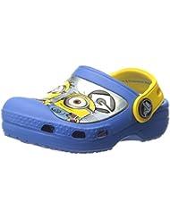 Crocs CC MINIONS CLOG Blau Junior Kinder Sandalen Neu