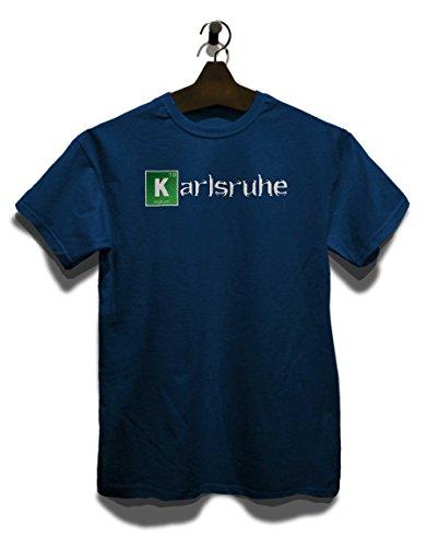 Karlsruhe T-Shirt Navy Blau