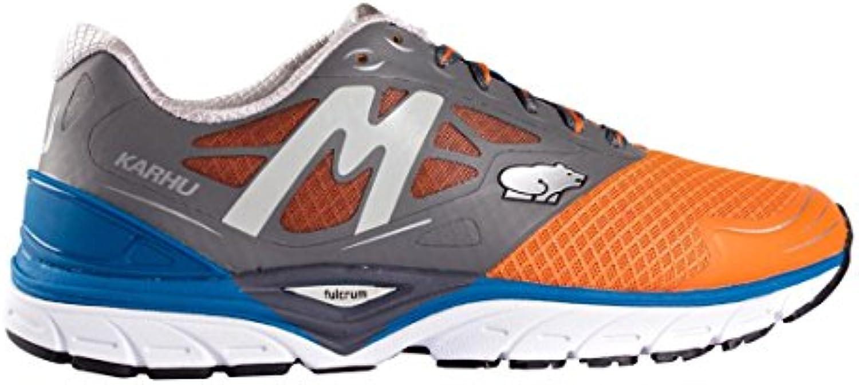 Karhu - Zapatillas de running de Material Sintético para hombre Varios Colores Charcoal/MykonosBlue, Hombre, CHARCOAL...