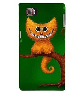 FIOBS A smiling animal on tree Designer Back Case Cover for Lenovo Vibe Z2 Pro :: Lenovo K920 :: Lenovo Vibe Z2 Pro K920