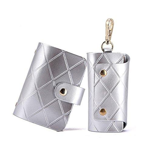 Paquet modèle rhombique en bloc serrure à carte/ la voiture key chain cartes carte Kit-A A
