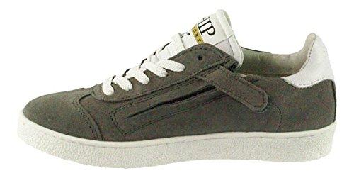 HIP , Chaussures de ville à lacets pour garçon gris gris Gris
