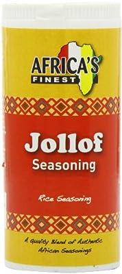 Africa's Finest Jollof Seasoning 100 g (Pack of 6) from Kraft