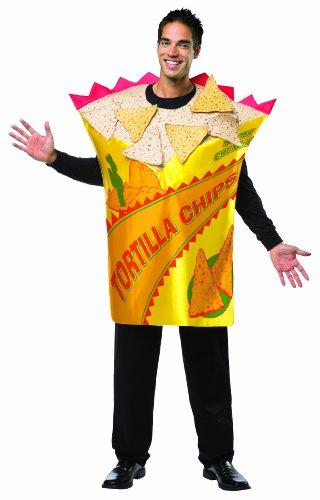 Rasta Imposta Tortilla-Chip Kostüm für Erwachsene (Chips Kostüm)