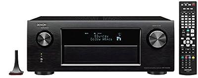 Denon AVR-X4200W Sintoamplificatore ad alta Potenza, Microfono di Taratura con Telecomando e Cavalletto per Microfono, Nero occasione - Polaris Audio Hi Fi