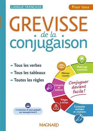 Grevisse de la conjugaison par  Bénédicte Gaillard