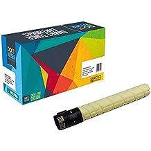 Do it Wiser ® Cartuccia di Toner Compatibile per Konica Minolta Bizhub C220 C280 C361 | TN216Y (Giallo)