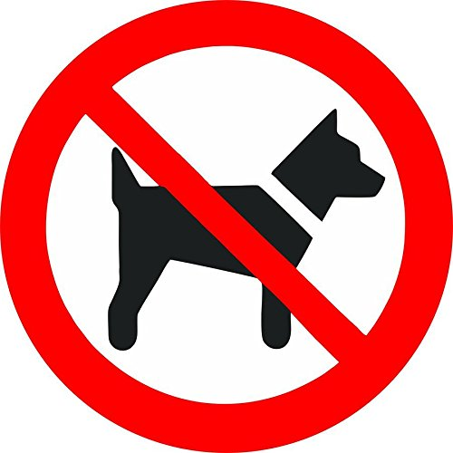 autocollant-sticker-porte-portail-voiture-magasin-pelouse-interdit-chien-panneau