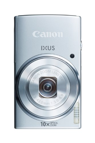 Canon IXUS 155 Digitalkamera (20 Megapixel, 10-fach opt. Zoom, 6,8 cm (2,6 Zoll) LCD-Display, HD-Ready) silber - 3