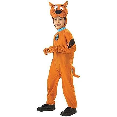 Rubie's - Disfraz de Scooby Doo para niño, color naranja, talla 7-8 años