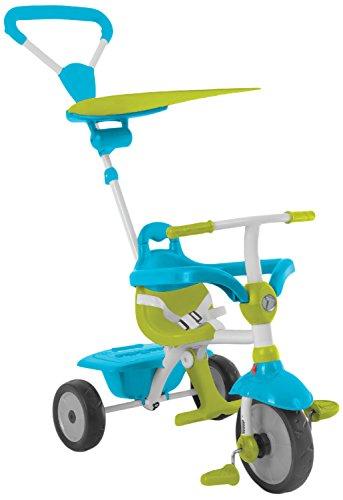 smarTrike 618-0100 Zip-Stabiles 3 in 1 Touch Steering Dreirad als Vollmetallkonstruktion