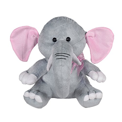 Ultra Baby Cute Elephant Plush Soft Toy for Kids, Gray (11-inch)