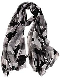2040a92a3974 Emorias 1pc Echarpe de Style Camouflage Foulard Décontracté Coupe-Vent  Accessoires Vêtements pour ...