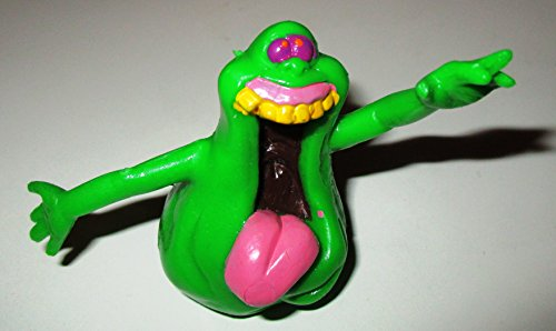 *Vintage* THE GHOSTBUSTERS (Geisterjäger) Kunststoff-Figur SLIMER (grüner Schleimgeist), Motiv