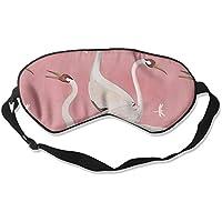 Comfortable Sleep Eyes Masks Swan Pattern Sleeping Mask For Travelling, Night Noon Nap, Mediation Or Yoga preisvergleich bei billige-tabletten.eu