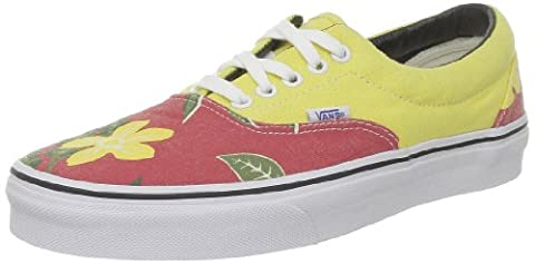 Vans Era VQFK7SU, Unisex - Erwachsene Skateboardschuhe, Rot (Hawaiian/Red), 42 EU / 8 UK