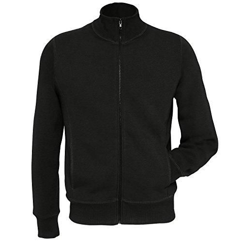 B & C Kollektion Mens Zip Reißverschluss-Sweatshirt-Jacke Top Rot - Red*