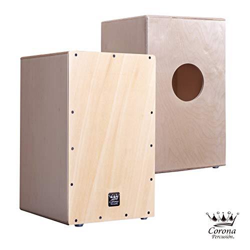 cajon flamenco adulto - Esta caja flameca esta fabricada en madera de abedul barnizado con cuerda de V afinable mediante llave