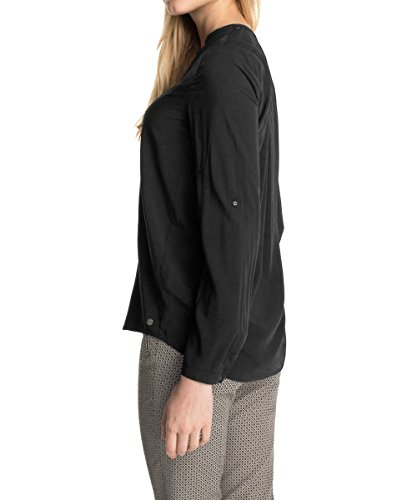 ESPRIT Damen Regular Fit Bluse Schwarz Abbildung 3