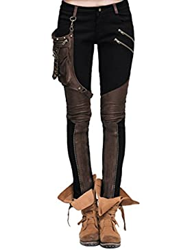 Devil Fashion Steampunk Pantalon