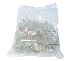 Max Value Ethernet Plugs,100 Pack