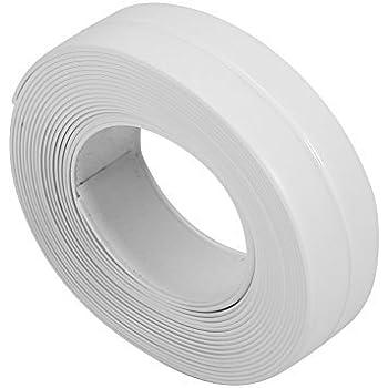 White Wall Caulk Strip Tape Self Adhesive Bathroom Kitchen