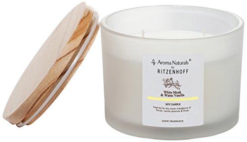 Scheda dettagliata Ritzenhoff Aroma Naturals Nature Candela profumata, Giallo, Milchig, 11 x 11 x 8.5 cm