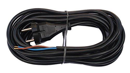 Bayram Staubsauger-Kabel 6,2 m, schwarz 2345