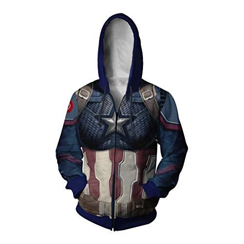 - Captain America Kostüm Hoodie