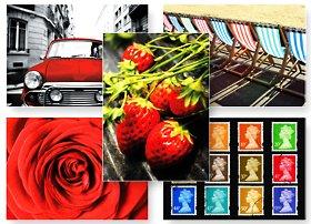 The Postcard Store Set aus britischen Postkarten, 50Stück