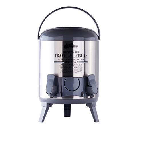 Ad Fresh Stainless Steel Insulated Water Jug Thunder, 9.5 litres