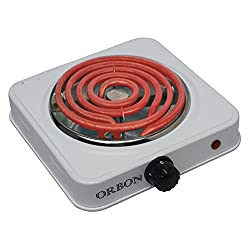 Orbon 1000-Watt With Thermostat G Coil Hot Plate Induction Cooktop / Induction Cookers / Handy G Coil Cooktop