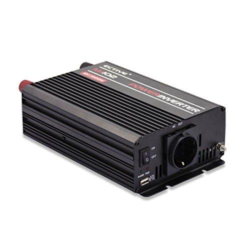 ECTIVE 1000W 24V zu 230V MI-Serie Wechselrichter mit modifizierter Sinuswelle in 7 Varianten: 300W - 3000W - 230v Dc-motor