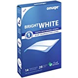 onuge Bright White-Strips, 28 Bandes pour blanchiment dentaire