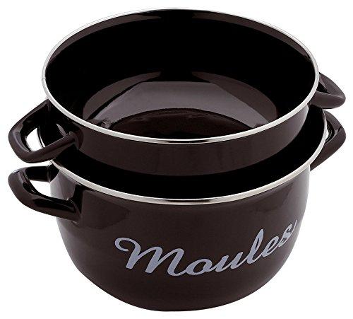 Baumalu Cast iron fondue set 6 persons black color 385058