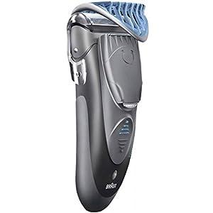 Braun cruZer Z6 Face Wet/Dry Herrenrasierer mit Akku- und Netz Styler