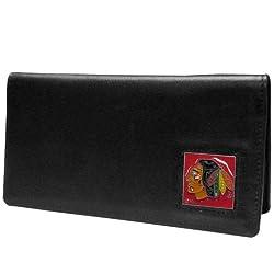 NHL Chicago Blackhawks Executive Genuine Leather Checkbook Cover