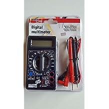 Medición de Corriente eléctrica, Voltaje, multimetro, tensiómetro, Digital ...