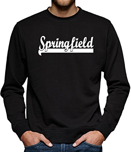 TLM Springfield Sweatshirt Pullover Herren XXXL Schwarz
