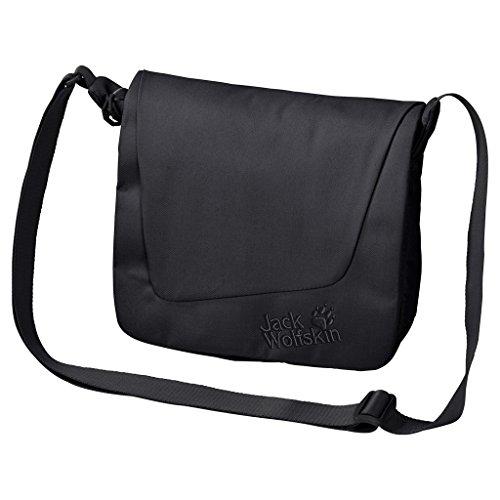 Jack Wolfskin Damen Umhängetasche ROSEBERY black, 29 x 28 x 4 cm, 3.5 Liter (Luxe Handtaschen)