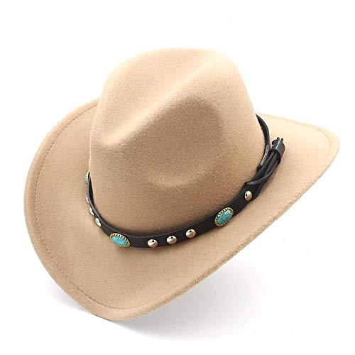 Fashion Western Cowboy Hut Mit Roll Up Krempe Classic Filz Cowgirl Sombrero Cap
