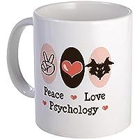 CafePress - Peace Love Psychology - Coffee Mug, Novelty Coffee Cup by CafePress - Love Beer