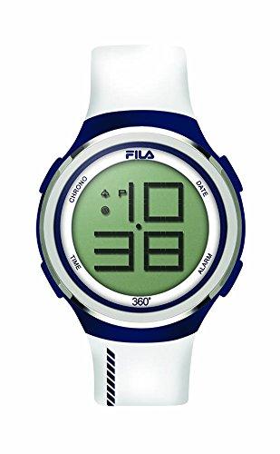Fila-Bracciale unisex orologio digitale al quarzo 38-038-103FILA casual bianco blu in silicone