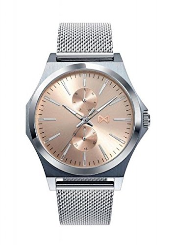 Mark Maddox Mens Analogue Quartz Watch with Stainless Steel Strap HM7108-97