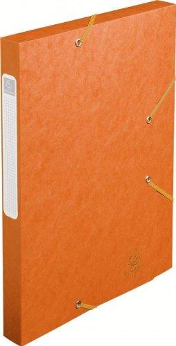 Exacompta 18517H - Carpeta de proyecto con goma, color naranja