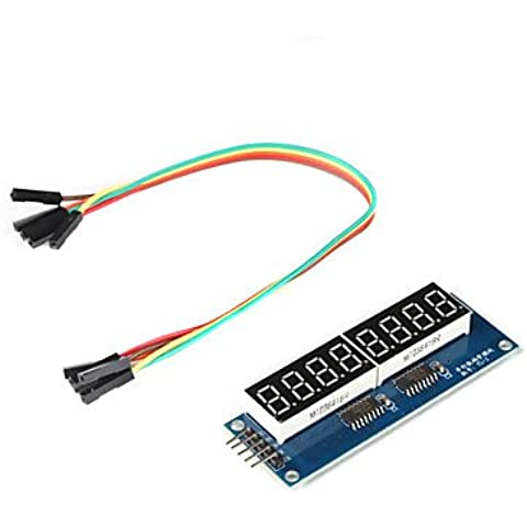 Piteng?8 x modulo display a sette segmenti per (per arduino) (driver 595)