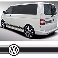 VW TRANSPORTER STRIPES Pegatinas de Rayas para Volkswagen Transporter Camper Van Caravelle T4 T5 Caddy