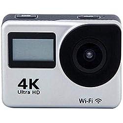 Futurepast Caméra d'action 4K WiFi Ultra HD 20MP Caméscope étanche 40M sous-Marin avec capteur Panasonic à très Grand Angle de 170 degrés
